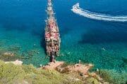 Korsan tekne turu Bodrum